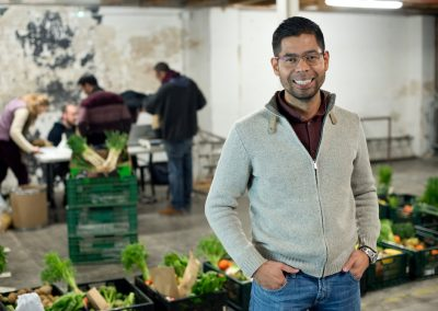 Online community food enterprise launchpad