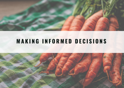 Making decisions for your food enterprise